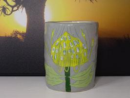 Gemma Orkin Keramik Container Vase Flower #1 Pincushion Protea