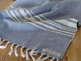 "Barrydale Hand Weavers Large Towel Badetuch ""Indigo"""