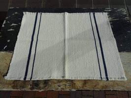 """Barrydale Hand Weavers Tischset """"Navy Stripe"""""""