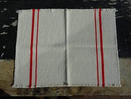 """Barrydale Hand Weavers Tischset """"Red Stripe"""""""