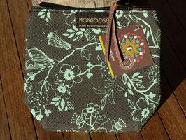 "Mongoose Purse Bag ""Wild Flower Mint/Charcoal"""