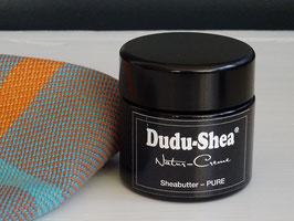 """Dudu-Shea Natur-Creme """"Pure"""" Sheabutter 100 ml im Glastiegel"""