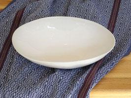 Wonki Ware Etosha Bowl Keramik Schale oval weiß