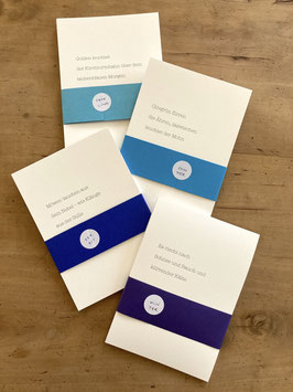 Jahrespaket: Postkartensets Frühling, Sommer, Herbst & Winter