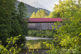Coombs Covered Bridge in Winchester, New Hampshire