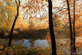 Autumn Light on the Ashuelot River