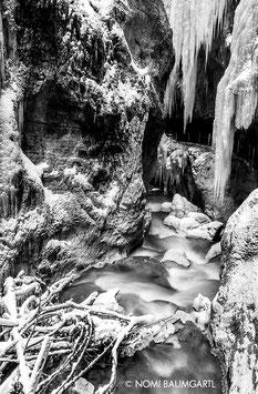 Partnachklamm im Winter III, Zugspitze Region 2018