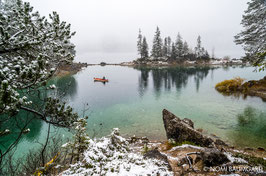 First Snow I, Eibsee, German Alps 2016