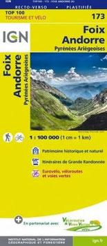IGN 173 : Foix, Andorre
