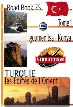 Road Book 25 : Turquie version numérique