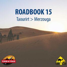 Cartographie numérique Taourirt - Merzouga