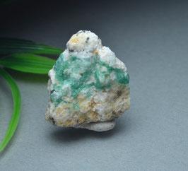 SOLD  OUT  ぐるりとエメラルドグリーン!ヒマラヤ産エメラルド9g [Emerald ]サイズ:タテ2.6、ヨコ2.3、奥行き1.2cm、 産地:Khaltoro, Skardu, Pakistan