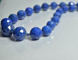 SOLD   OUT   ラピスラズリネックレス53g [Lapis lazuli]サイズ:直径約7mm~ 13mm長さ52.5cm ,産地:アフガニスタン[Afganistan]