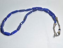 SOLD   OUT   ラピスラズリネックレス31g [Lapis lazuli]サイズ:直径約4mm~ 7mm長さ55cm         産地:アフガニスタン[Afganistan]