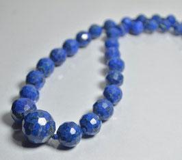 SOLD OUT  ラピスラズリネックレス49g [Lapis lazuli]サイズ:直径約6mm~ 16mm長さ52cm ,産地:アフガニスタン[Afganistan]
