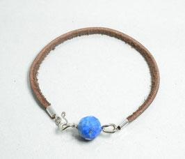 SOLD OUT ラピスラズリハンドメイドブレスレット(hand made Lapis lazuli braslate)