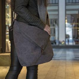 STOCKHOLM - Schultertasche - grau