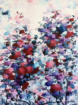 Titre: Bouquet de lumière               Grandeur: 40x30 pouces