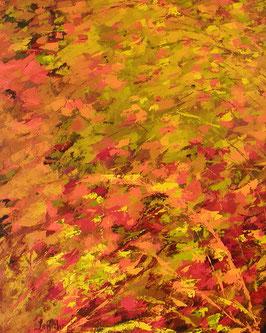 Oeuvre originale signé LaRoche                                            Titre: Saveur d'automne            Grandeur: 30x24 pouces