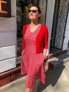 "Kleid Midi hier im Muster ""Pebbles Blossom """