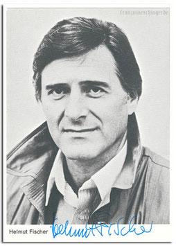 Autogrammkarte Helmut Fischer
