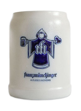 """Münchinger Kindl"" Steinkrug"