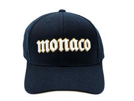 Monaco Schrift Basecap (verstellbar, UNISEX)