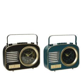 Uhr metall Radiooptik