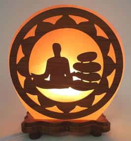 Lampe de Sel Méditation solaire 5KG