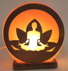 Lampe de Sel Yoga Méditation 5KG