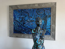 Sculpture ''Peau d'âme,  la source en éveil'' entité 2