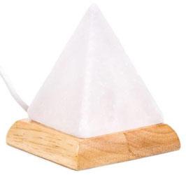 Mini lampe pyramide sel blanche USB + LED