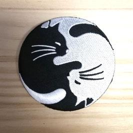 Parches gatos y Totoro