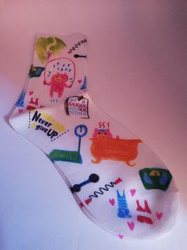 Calcetines impresos