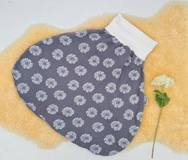 "Strampelsack ""Blumen Blau"""