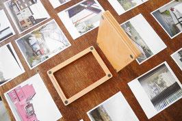 Magnetrahmen aus Holz / Buche / 10 x 15 cm