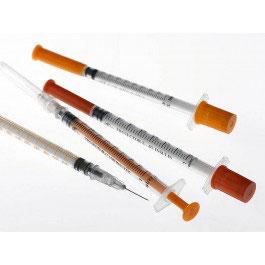 Troge 2ml 3 Part Syringe with Needle