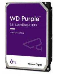 Disco Duro WESTERN DIGITAL WD62PURZ, 6 TB, Videovigilancia
