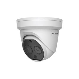Turret IP Térmica de Alta Precisión INDUSTRIAL / Lente Dual / Lente térmico 3mm / ALTA PRECISIÓN / Alto Flujo