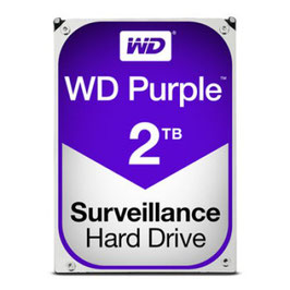 Disco Duro Interno Western Digital WD20PURZ Purple 3.5'', 2TB, SATA III, 6 Gbit/s, 5400 RPM, 64MB Cache