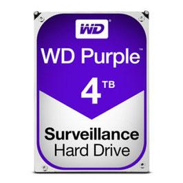 Disco Duro Interno Western Digital WD40PURZ Purple 3.5'', 4TB, SATA III, 6 Gbit/s, 5400 RPM, 64MB Cache
