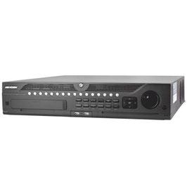 NVR 12 Megapixel (4K) / 64 canales IP / 8 Bahías de Disco Duro / 2 Puertos de Red / Soporta RAID con Hot Swap / HDMI en 4K / Soporta POS