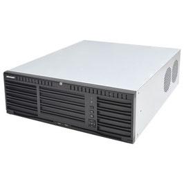 NVR 12 Megapixel (4K) / 256 canales IP / 16 Bahías de Disco Duro / 4 Puertos de Red / Soporta RAID con Hot Swap / NVR de Alto Desempeño