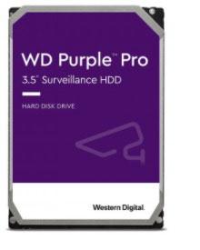 Disco Duro WESTERN DIGITAL WD8001PURP PURPLE PRO 8 TB 3.5 Pulgadas, SATA 6 Gbps, 256 MB Caché. 7200 RPM.