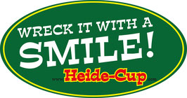 "Heide-Cup Aufkleber ""Wreck it"""