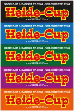 """Heide-Cup Aufkleber """"Heide-Cup bunt"""""""