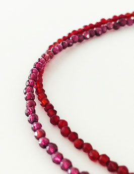 Granat Carneol Halsband / Collar