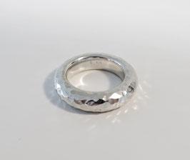 Silberring  925 mit strukturierter Oberfläche
