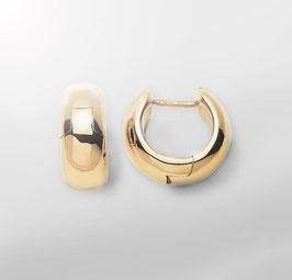 breite Kreolen Gold 750