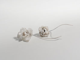 weisse Blumen Silber 925